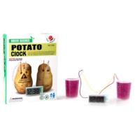 TveT Potato Clock Elektriğini Patatesten Üreten Dijital Saat