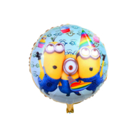 Yuvarlak Minion 45 cm. Parti Folyo Balon cin82