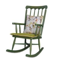 Asedia Teksas Yeşil Sallanan Sandalye