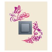 Kelebekler-1 Priz Sticker