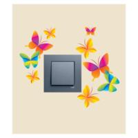 Kelebekler-2 Priz Sticker