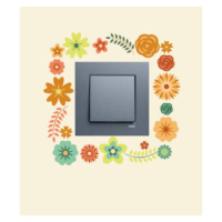 Çiçekler-2 Priz Sticker