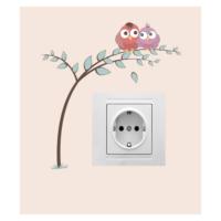 Aşık Baykuş Priz Sticker