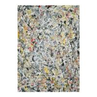 Jackson Pollock - White Light 50x70 cm
