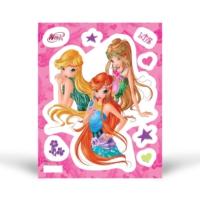 Fosforlu Duvar Sticker Winx 19 cm