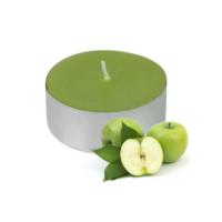 Toptancı Kapında 100 lü Tealight Mum - Yeşil