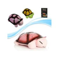 Toptancıkapında Tavana Işık Yansıtan Müzikli Kaplumbağa - Pembe