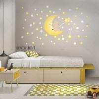 DekorLoft Aydede ve Sevimli Ayıcık Uyku Arkadaşlarım Sticker CS-103