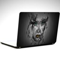 Dekolata Kadın Gözüyle Laptop Sticker