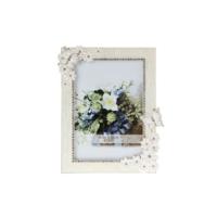 Biev Resim Çerçevesi Çiçek-Kelebek 14,5X1,5X19,5Cm / 4X6Cm
