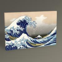 Tablo 360 Katsushika Hokusai Great Wave 30 x 20 cm