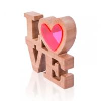 Purupa Love Kalbim Ahşap Obje