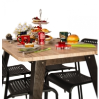 Purupa Meşe Mutfak Masası - Yemek Masası