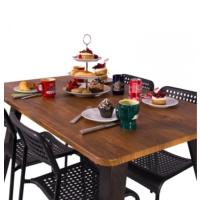 Purupa Antik Ceviz Mutfak Masası - Yemek Masası