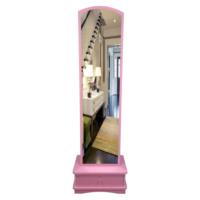 Lale Çekmeceli Boy Aynası / Pembe