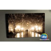 Evmanya Deco Aşıklar Led Işıklı Kanvas Tablo 45x65 cm