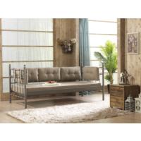 Unimet Lalas Metal Sofa 70 x 200 Kahverengi (Mindersiz)