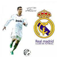 Modakedi Real Madrid Ronaldo 3 Boyutlu Duvar Stickerı