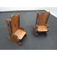 Toptancı Amca Minik Sallanan Sandalyeler 2 Adet Dekor Obje