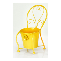 Evistro Ferforje Çiçeklik Saksılık Sandalye
