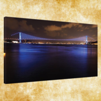 Rengo - İstanbul Kanvas Tablo 50x120 cm (0002)