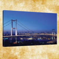 Rengo - İstanbul Kanvas Tablo 50x120 cm (0003)