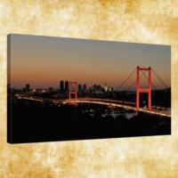 Rengo - İstanbul Kanvas Tablo 50x120 cm (0004)