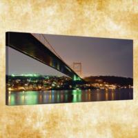 Rengo - İstanbul Kanvas Tablo 50x120 cm (0005)