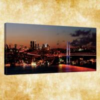Rengo - İstanbul Kanvas Tablo 50x120 cm (0006)