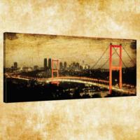 Rengo - İstanbul Kanvas Tablo 50x120 cm (0007)