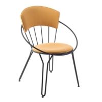 Kozza Home Endüstriyel Metal İtls Sandalye