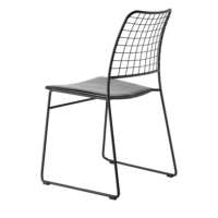 Kozza Home Kafesli Metal M11S Sandalye