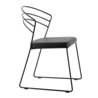 Kozza Home Kafesli Metal Md1 Sandalye