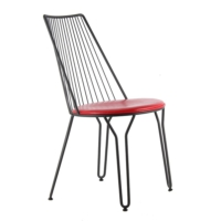 Kozza Home Endüstriyel Metal Rny Sandalye