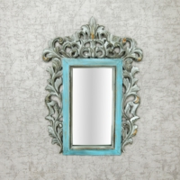 Vitale Fransız Stil Ayna 26 x 37 x 1.5 cm