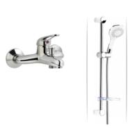 ACR Kitre Banyo Bataryası + ACR White Sürgülü Duş Seti