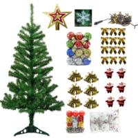 Partioutlet 150 Cm Lik Çam Ağacı + 62 Adet Süs Paketi
