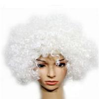 Partioutlet Beyaz Kıvırcık Saç - Peruk