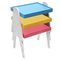 Deko Home Manolya 3'lü Renkli Zigon Sehpa