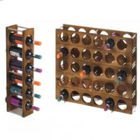 Dekorjinal Ahşap Şaraplık Dock031