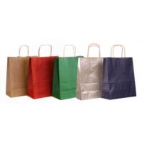 Menteşoğlu Kağıtçılık Kraft Kağıt Poşet ve Renkleri 25x31x12cm-50 adet
