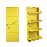 Metal Ayakkabılık Kanguru 4 Lü Gold Sarı 1018