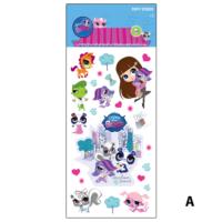 Artikel Minişler Puffy Sticker 12,4X29,5 Cm Copy