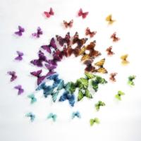 Artikel 3D Kelebekler 44 Adet