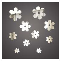 Artikel Çiçekler 1 Mm Ayna Sticker