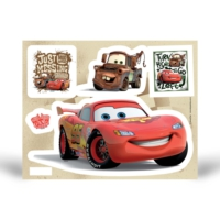 Artikel Fosforlu Duvar Sticker Cars Mc Queen 19 Cm