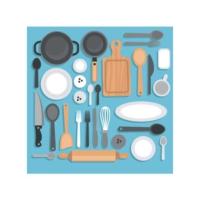 Artikel Mutfak Gereçleri-2 Bulaşık Makinesi Sticker