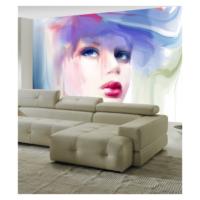 Artikel Porselen Kız 178X126 Cm Duvar Resmi