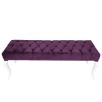 3A Mobilya Lükens Purple Puf Sehpa