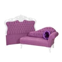 3A Mobilya Lila Prenses Josephine Prenses Yatak Başı Lila